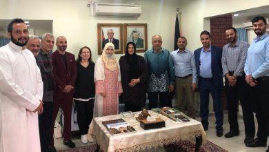 صورة لتشكيل لجنة لمساعدة اللاجئين… السفارة الفلسطينية في ماليزيا تجتمع بالجالية