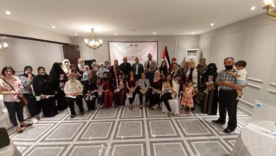 صورة الجالية الفلسطينية في ماليزيا تقيم حفلاً لإحياء مناسبة يوم المرأة العالمي