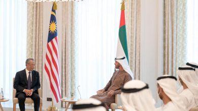 صورة في ثاني زيارة لدولة عربية بعد السعودية.. محيي الدين ياسين في أبو ظبي