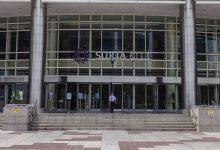 صورة حادثة انتحار قفزاً من الطابق الثالث في مركز تسوق Suria KLCC