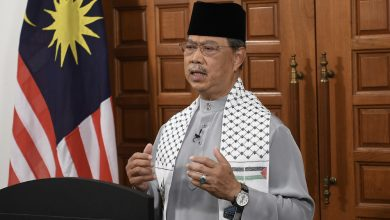 صورة رئيس الوزراء الماليزي يستنكر عجز مجلس الأمن عن وقف العدوان على فلسطين
