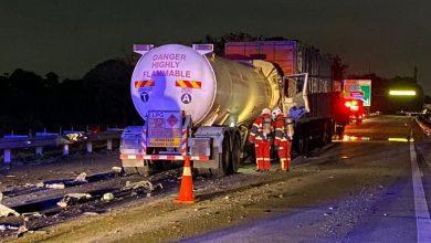 صورة مقتل شخص وإصابة ثلاثة آخرين في حادث تصادم بولاية بيراك