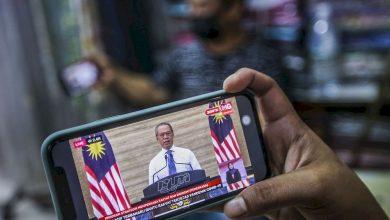 صورة رئيس الوزراء الماليزي يعلن عن حزمة مساعدات بقيمة 150 مليار رينجيت