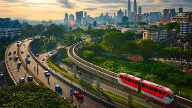 صورة وزارة النقل الماليزية توضح آخر التعليمات الخاصة بالمواصلات والتنقل