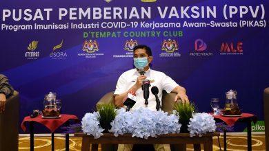 صورة وزير التجارة الماليزي: الإغلاق ليس حلاً.. وعلينا بالتطعيم