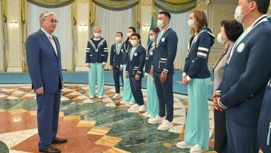 صورة كازاخستان تحقق إنجازات رائدة في أولمبياد طوكيو.. الرئيس الكازاخي يتعهد بتطوير الرياضة الجماهيرية