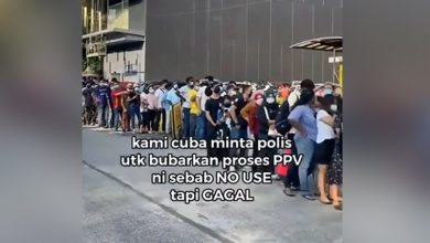 صورة توضيحات من مركز للتلقيح في كوالالمبور بعد فيديو حشود العمال الأجانب