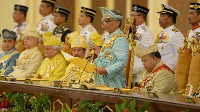 صورة الملك وحكام الملايو يجتمعون الجمعة لاختيار رئيس الوزراء الجديد