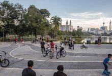 صورة اكتظاظ في الحدائق العامة والشرطة تحذر من عدم الالتزام بالتباعد الاجتماعي