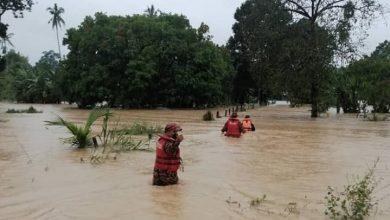 صورة قتيل ومشردون جراء انهيارات أرضية في عدد من الولايات بعد الفيضانات