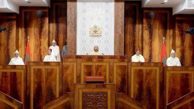 صورة ملك المغرب يفتتح الدورة الأولى لبرلمان البلاد الجديد