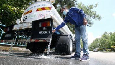 صورة انقطاعان في غضون 4 أيام… عودة مياه سيلانجور إلى 156 منطقة متضررة